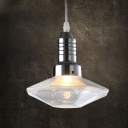 Diamond Mini Pendant Light in Bulb Style