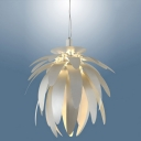 Red Leaves Coveing Shade Designer Pendant Lighting