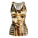 Egypt Pharoah&Corpse Bride&Tiger Print Tanks