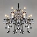 "Elegant and Splendid Large 32.2""Wide 12-Light Dining Room Chandelier Light"