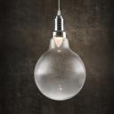Glass Globe Bulb Style Mini Pendant Light