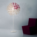 Creative Burst Shaped Coral Designer Floor Lamp