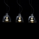 Three-Light Rectangular Cupcake Deign Chic and Charming Multi-Light Pendant