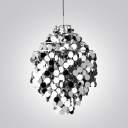 Shining Small Metal Shaded  Mini Pendant Light