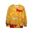 Simpson Series Print Sweatshirt