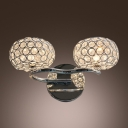 Add Spectacular Sparkle to Your Home with Crystal Wall Sconce