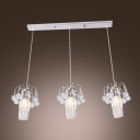 Add Designer Lighting Style to Your Home with Adjustable Three Swag Multi Light Pendant