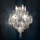 Hanging Chain Pendant Chandelier by Modern Designer Lighting