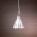 Beautiful and Shinning Clear Glass Suspensions Designer Pendant Light