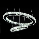 Sparkling Crystal Beads Embedded Rings Dinning Rooom Pendant Lighting