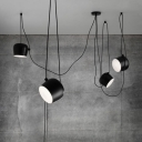 Break Tradition Black/White Hanging Light 4-Light