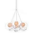 Cluster Inner Glass Ball Multi-Light Pendant 7-Light