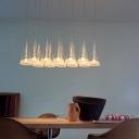Brilliant Design Cone Shaded Multi-Light Pendant Light In Modern Style 12-Light