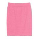 Elastic Bodycon Plain Skirt