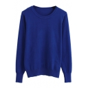 Must-have Style Plain Slim Sweater