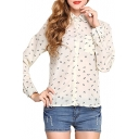 All Over Anchor Print  Pocket Front  Shirt