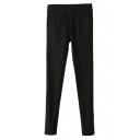 Ruffled Pocket Skinny Pants