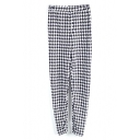Houndstooth Print Leggings
