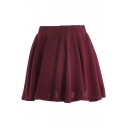 Ladylike A-line Short Skirt