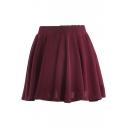 Ladylike A-line Short Skirt