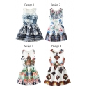 Special Buildings Print  A-line Tanks Dress