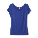 Modal Short Sleeve Slim Plain Tee