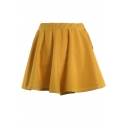 Ginger Ladylike A-line Short Skirt