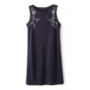 Symmetry Sequins Tanks Dress