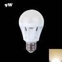 Warm White Light 150lm E27 9W LED Bulb