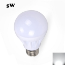 LED Globe Bulb E27 5W Cool White Light