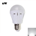 9W 2835SMD E27  Plastic LED Globe Bulb Cool White Light