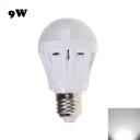 9W 2835SMD E27  Plastic LED Globe Bulb Cool White Light