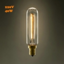 Warm Yellow Light T20 220V E14 40W  Edison Bulb