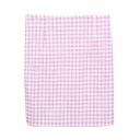 Lilac&White Gingham Bodycon Skirt
