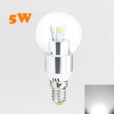 300lm 120° 9Leds E14 LED Globe Bulb 3W Cool White