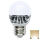350lm 6Leds Globe Bulb 220V 3W E27 3000K