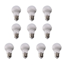 E27 7W 110V Warm White Light LED Bulb