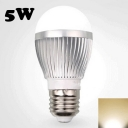 E27 5W 220V Warm White  LED Globe Bulb