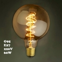 LOFT G95 95*140mm 220V  E27 60W Edison Bulb