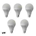 9W 5Pcs E27 350lm 5730SMD LED Globe Bulb