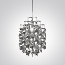 Spiral Droplet Shaded Shining Pendant Light