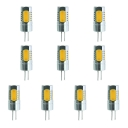 10Pcs Mini G4 5W 12V Warm White Light LED Corn Bulb