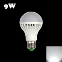 220V White LED Globe Bulb E27 7W Cool White Light
