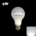 220V E27 9W Cool White Light LED Globe Bulb