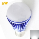 6000-6500K Dark Blue 300lm E27 3W LED Globe Bulb
