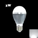 6500K 5730SMD E27 3W LED Globe Bulb