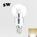 Warm White 9Leds E27 LED Globe Bulb 5W