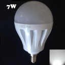 Cool White Light 27Leds 180° E14 7W  Globe Bulb