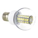 E27 6W 220V 6000K  Clear LED Globe Bulb