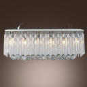 Stunning and Splendid Pendant Light Glitters with Beautiful Crystal and Polished Chrome Finish Deatails